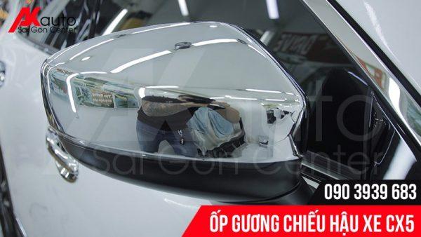 ốp gương chiếu hậu xe cx5