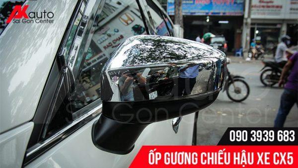 ốp gương chiếu hậu xe cx5 mạ crom