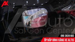 AKauto Saigon Center chuyên về Ốp nắp bình xăng xe Altis