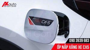 ốp nắp bình xăng trang trí cho Mazda CX5
