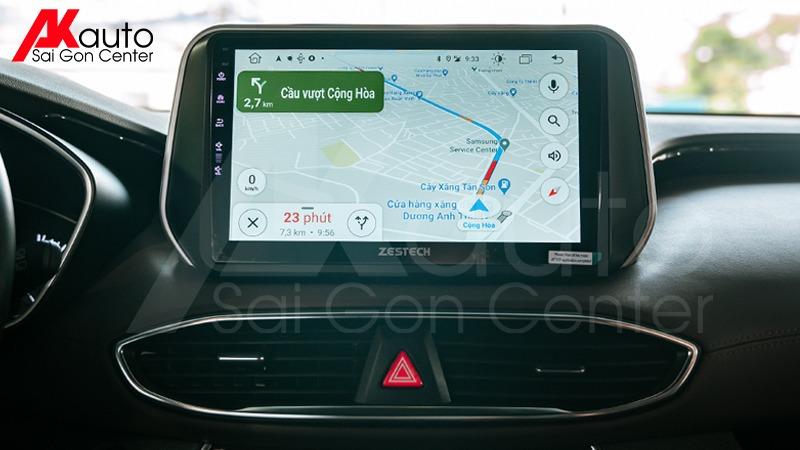 phần mềm dẫn đường ô tô google maps