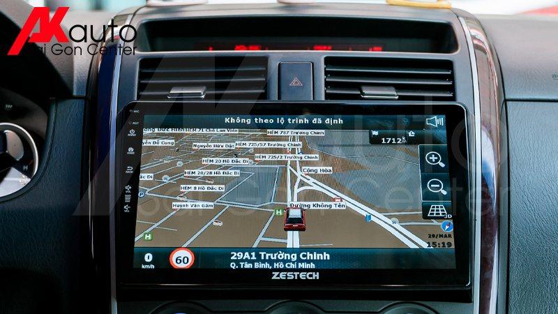 Phần mềm dẫn đường xe ô tô