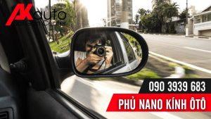 Phủ nano kính ô tô