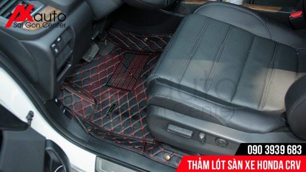 thảm trải sàn cao su 6d xe crv
