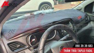 xe fadil trải thảm taplo chống nóng