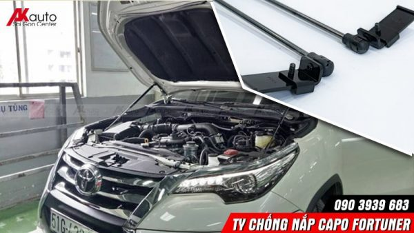 lắp ty chống nắp capo fortuner uy tín hcm