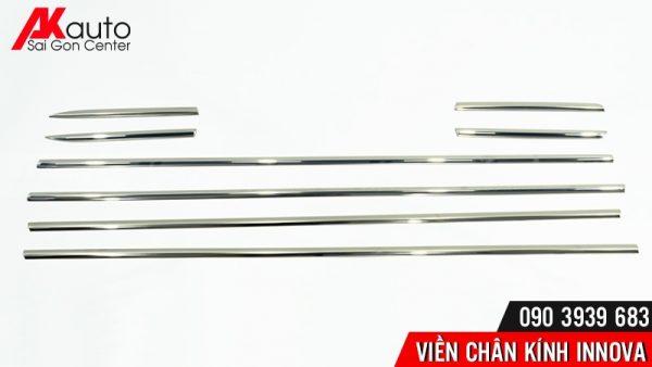 thiết kế thanh nẹp chân kính ô tô innova