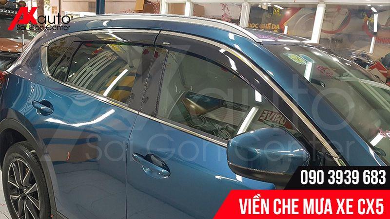 Viền che mưa Mazda CX5 uy tín hcm akauto