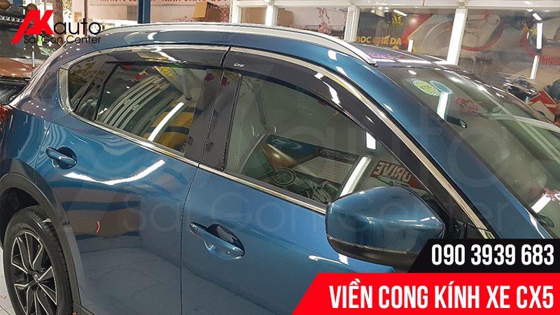 viền cong kính cho Mazda CX5