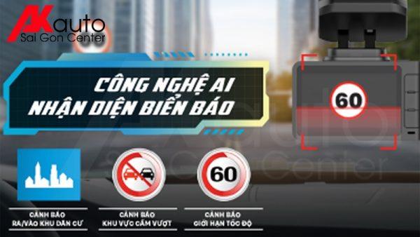 camera r4a nhận diện biển báo giao thông