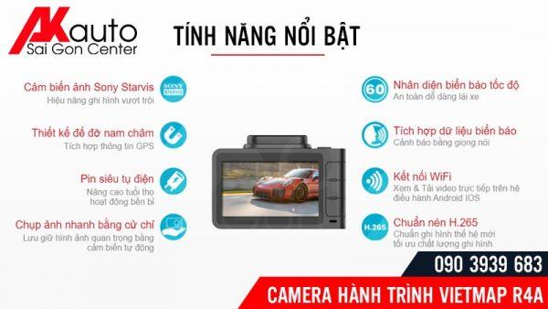 tính năng camera vietmap R4A