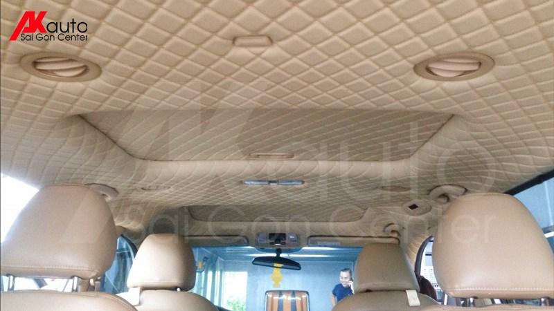 bọc trần hỗ trợ cách nhiệt trần xe