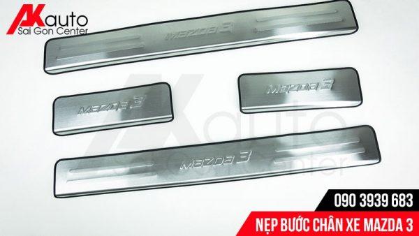 nẹp bước chân xe Mazda 3 không đèn
