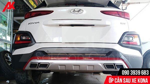 ốp cản sau xe Hyundai kona