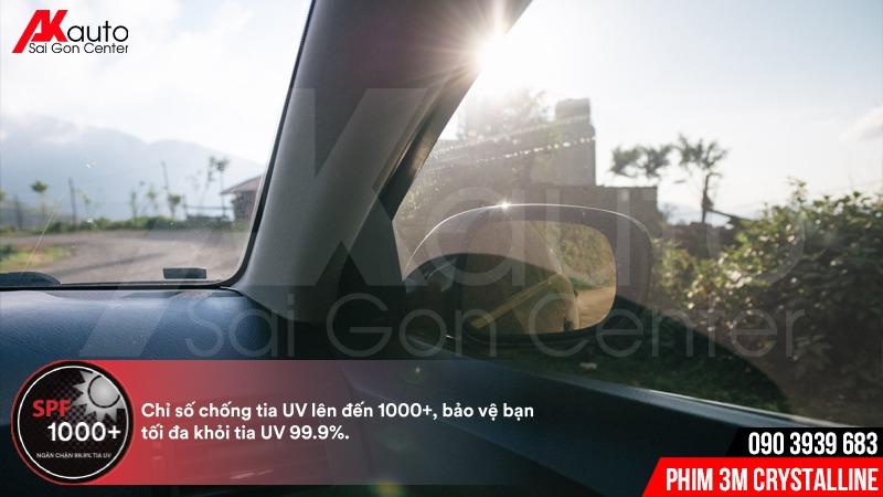 phim 3M crystalline chống UV