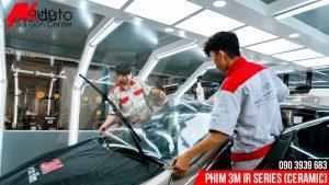 Dán phim 3M ceramic kính lái