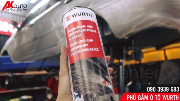 sơn phủ gầm wurth chính hãng hcm