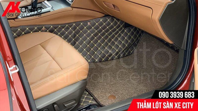 thảm lót sàn ô tô city