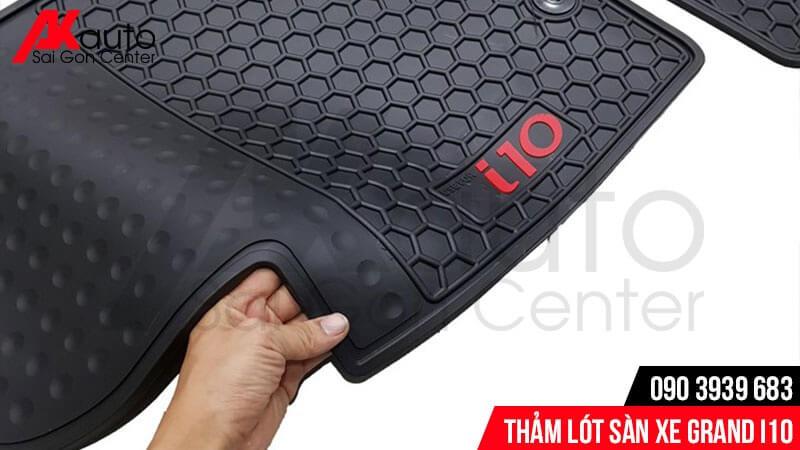 thảm cao su lót sàn grand i10