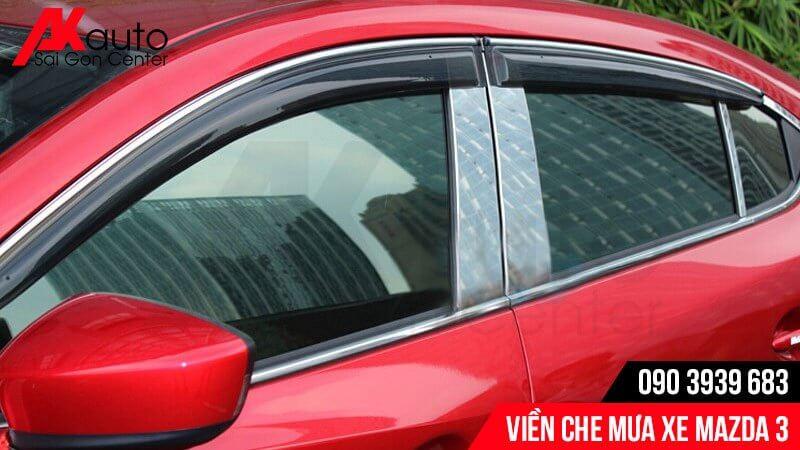 viền che mưa xe mazda 3 uy tín hcm