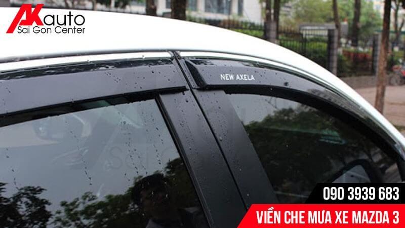 viền che mưa ô tô mazda 3