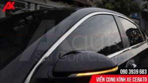viền cong kính xe ô tô cerato hcm