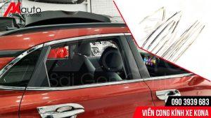 AKauto lắp viền cong kính ô tô kona uy tín hcm