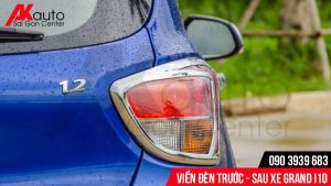 viền đèn sau xe ô tô grand i10