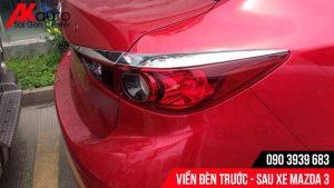 Viền đèn sau xe Mazda 3