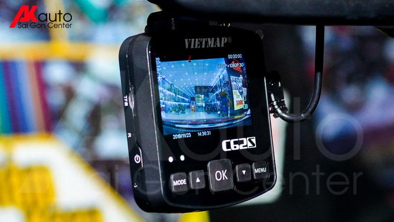 camera hành trình trước sau vietmap c62s