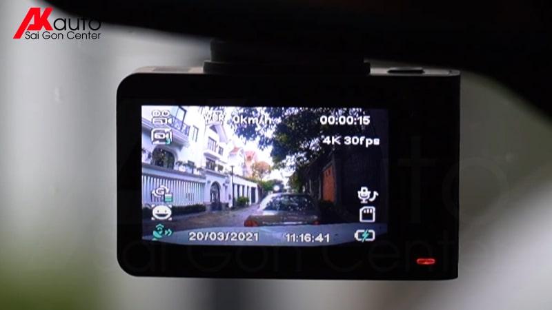 camera hành trình cảnh báo tốc độ r4a