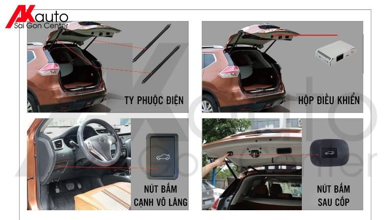 trang bị cốp điện thông minh xe ô tô