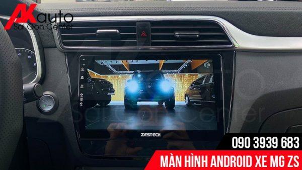 màn hình zestech xe MG ZS
