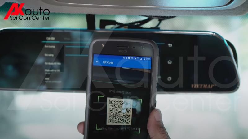 Kết nối camera hành trình với điện thoại