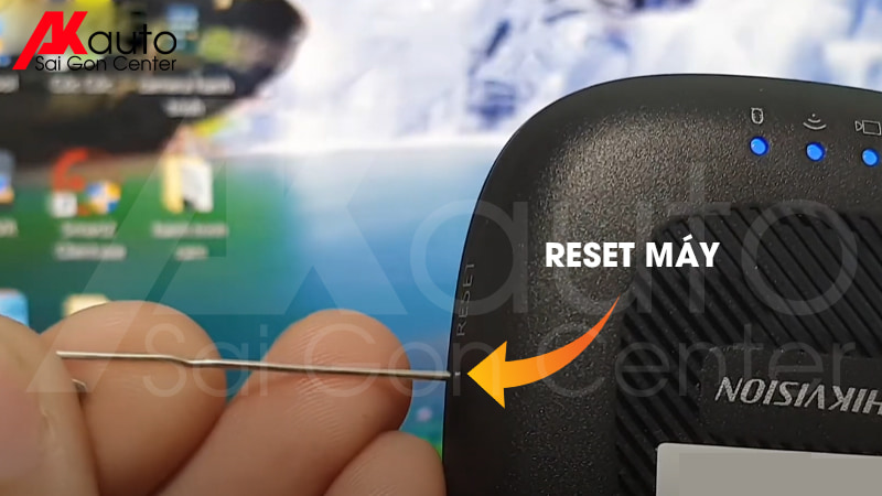 Reset camera hành trình khắc phục lỗi