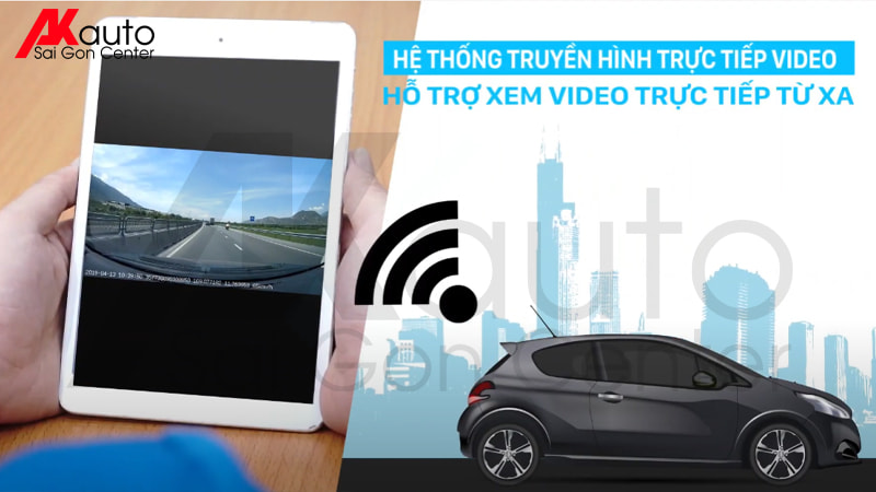 camera hành trình giám sát vị trí ô tô từ xa