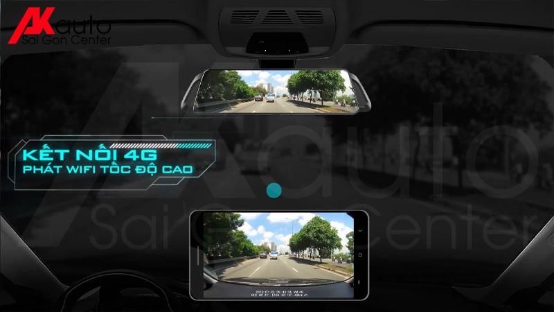 camera hành trình phát wifi tốc độ cao
