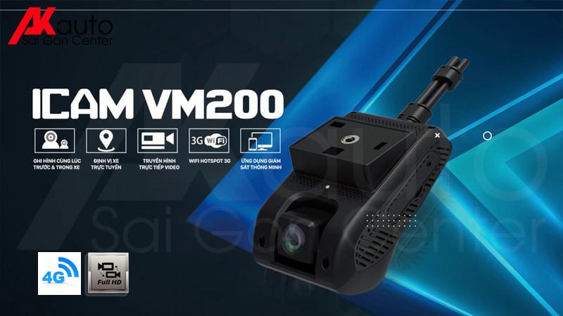 VietMap VM200 giám sát ô tô 4G