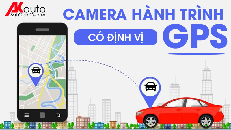 camera hành trình ô tô có định vị GPS