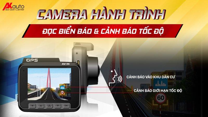 camera cảnh báo tốc độ xe ô tô