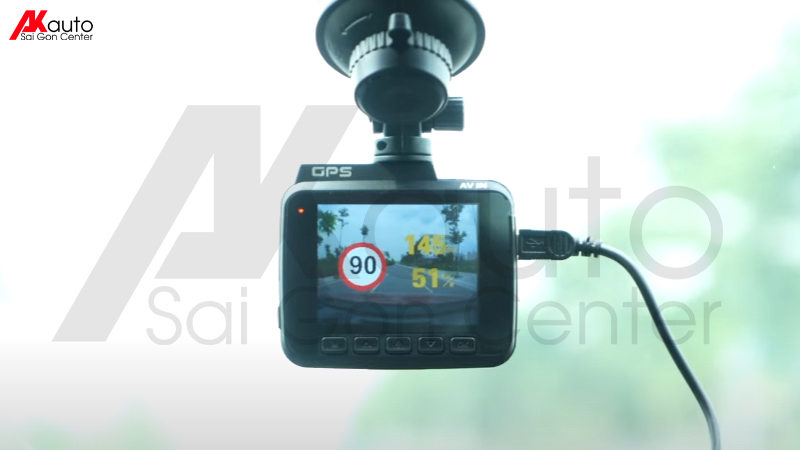 camera ô tô vietmap c61 đọc biển báo giao thông