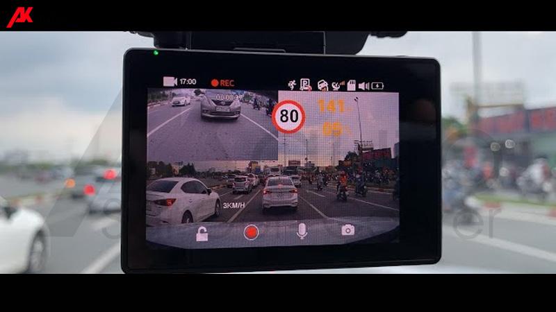 camera vietmap c65 đọc biển báo giao thông