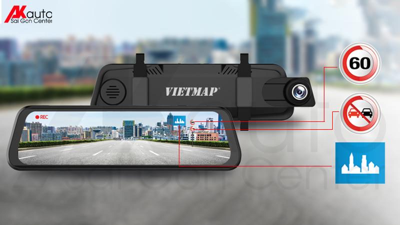 camera gương điện tử tràn viền vietmap g39