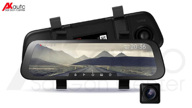 camera hành trình gương xiaomi 70 mai rearview dash cam wide