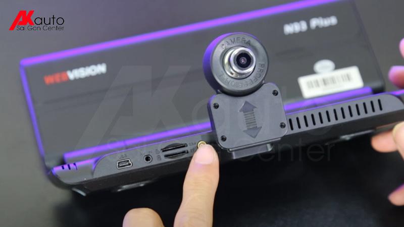 ống kính camera đặt taplo