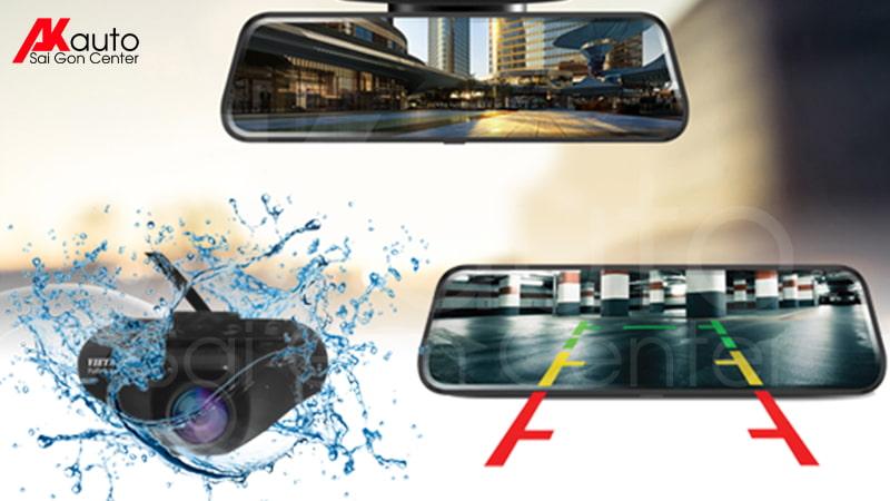 camera trước sau ô tô vietmap g39 gương